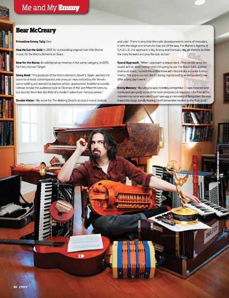 Emmy Magazine (February 2014)